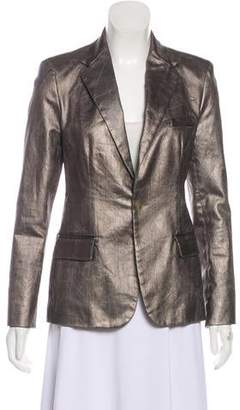 Ralph Lauren Black Label Structured Metallic Blazer