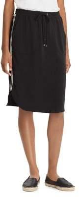 Lauren Ralph Lauren Elasticized Fluid Crepe Skirt