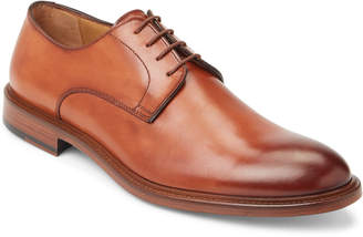 Antonio Maurizi Cognac Plain Toe Derby Oxfords