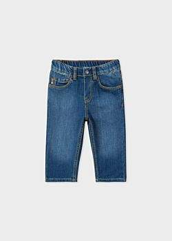 Paul Smith Baby Boys' Mid-Wash Denim 'Regis' Jeans