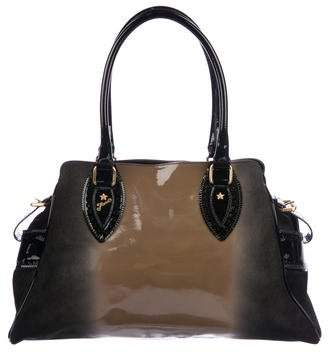 f21c6b142176 Pre-Owned at TheRealReal · Fendi Ombre Patent Leather   Suede Bag de Jour