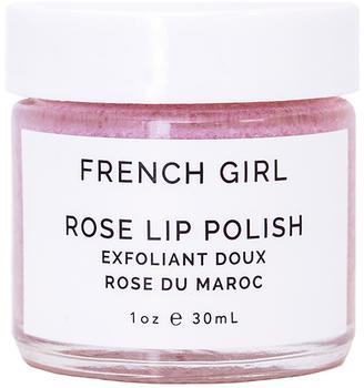 French Girl Organics Rose Lip Polish $15 thestylecure.com