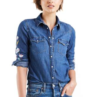 Levi's Levis Women's Ultimate Western Denim Shirt