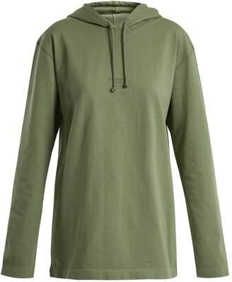 Acne Studios Lily cotton-jersey hooded sweatshirt