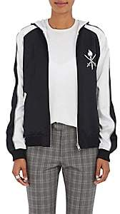 Opening Ceremony Women's Reversible Hooded Silk Track Jacket