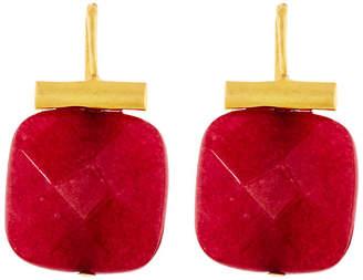 Catherine Canino Ruby Quartz Earrings - Ruby