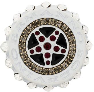 Ermanno Scervino engraved brooch