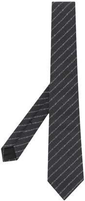 Gucci logo jacquard tie