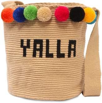 Yalla Mochila Woven Bucket Bag