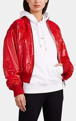 Moncler 2 1952 Women's Nassau Tech-Taffeta Bomber Jacket - Red