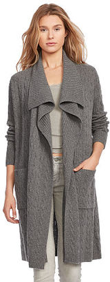 Polo Ralph Lauren Cable Wool-Cashmere Cardigan $265 thestylecure.com