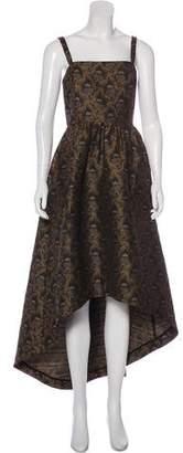 Co Jacquard Evening Dress