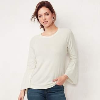 Lauren Conrad Women's Bell-Sleeve Sweatshirt