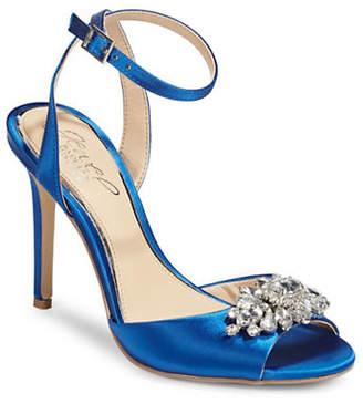 Badgley Mischka Hayden Jewelled Dress Sandals