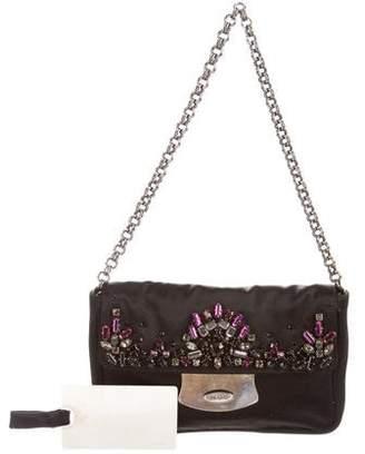 Prada Raso Embellished Bag