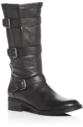 Kenneth Cole Gentle Souls by Women's Best Buckled Moto Boots