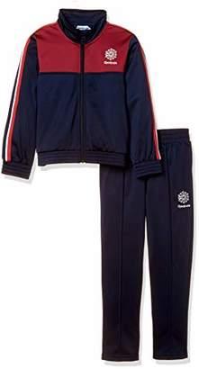 Reebok (リーボック) - [リーボック] トレーニング U クラシック トラックスーツ ジャケット パンツ EZM51 [ジュニア] キッズ カレッジネイビー (DH3324) 日本 130 (日本サイズ130 相当)