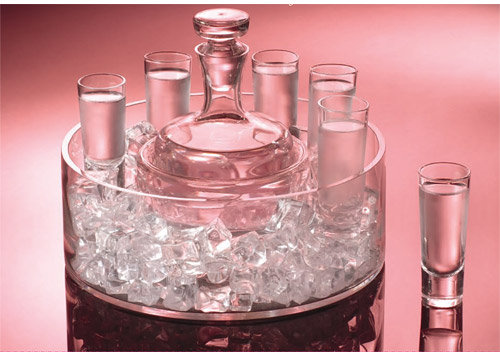 Entertain with Style 8 Piece Vodka Set