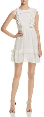 Vero Moda Suman Sleeveless Ruffle-Trim Dress