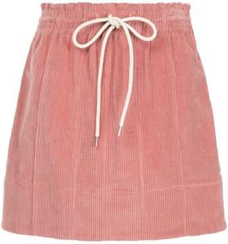 Bassike cord skirt