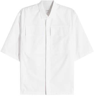 Jil Sander Short-Sleeved Cotton Shirt