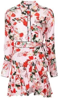 Marissa Webb floral print short dress
