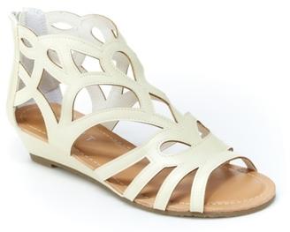 Esprit Chai Gladiator Sandal $39 thestylecure.com