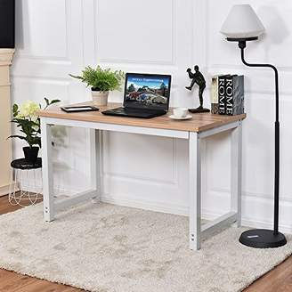 STUDY CHEFJOY Computer Desk PC Laptop Table Wood Work-Station Home Office Furniture