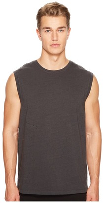 Vince - Distressed Tank Top Men's Sleeveless $125 thestylecure.com