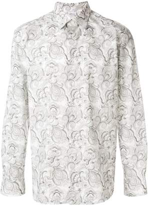 Brioni all-over print shirt
