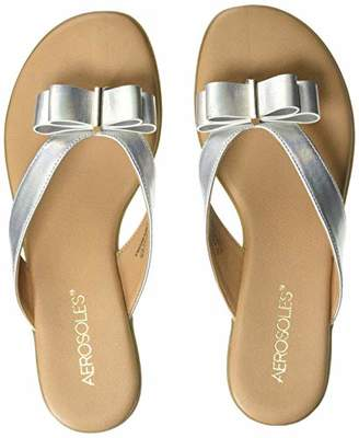Aerosoles Women's Mirachle Sandal - Casual Thong Sandal with Memory Foam Footbed (5M - )
