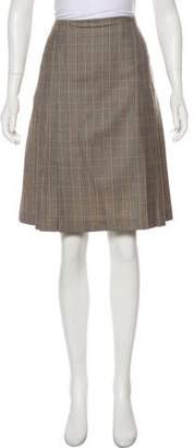 Brooks Brothers Wool Knee-Length Skirt