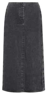 The Row Deni denim skirt