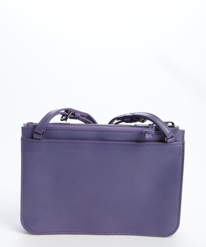 Proenza Schouler berry smoothie leather 'PS 1' small crossbody bag