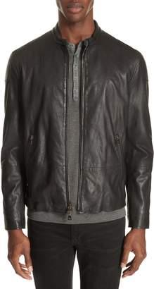 John Varvatos Collection Moto Leather Jacket