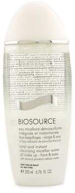 Biotherm NEW Biosource Total And Instant Cleansing Micellar Water 200ml Womens