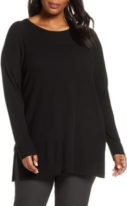 Eileen Fisher Round Neck Tunic