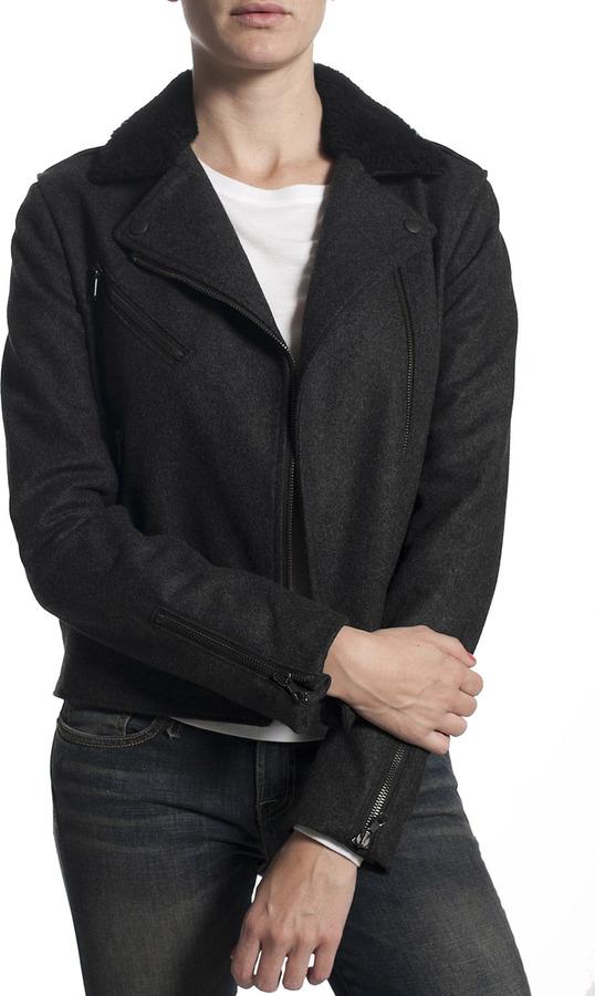 Rag and Bone RAG & BONE Bowery Jacket/Vest - Charcoal