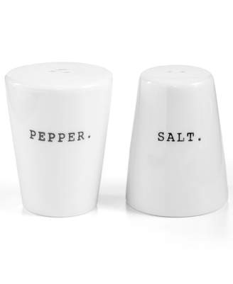 The Cellar Whiteware Words Salt and Pepper Shakers, Created for Macy's