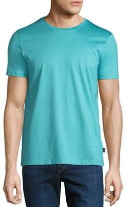 BOSS Men's Mercerized Jersey T-Shirt, Aqua