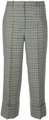 Michael Kors tartan print trousers