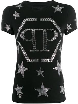 Philipp Plein crystal star T-shirt