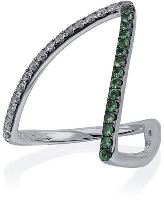 Leon Yvonne Viviane diamond ring