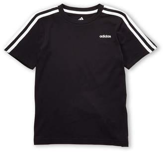 adidas Boys 4-7) Short Sleeve Stripe Tee