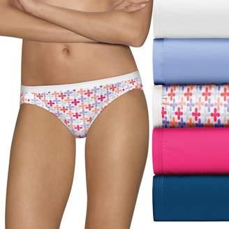 Hanes Ultimate 6-pk. Ultra Soft Cotton Comfort Bikini Panties 42HUCC