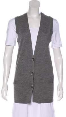 Theory Wool Sleeveless Vest