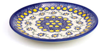 Polish Pottery ポーリッシュポタリー 平皿φ17cm