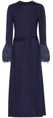 Rosie Assoulin At The Car Wash wool-blend dress