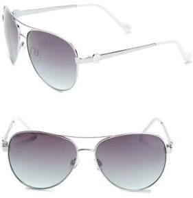 Jessica Simpson 60MM Aviator Sunglasses