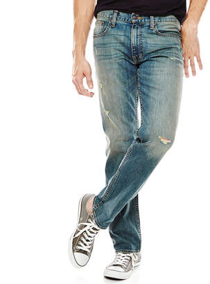 Arizona Flex Slim Straight Stretch Destruction Jeans
